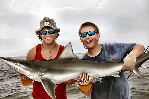 St. Simons Shark Fishing Charters