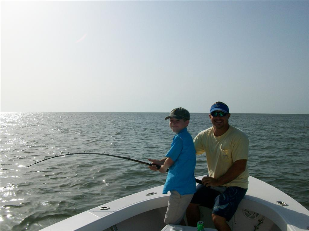 Kids fishing charters from st simons island georgia for Charter fishing trip