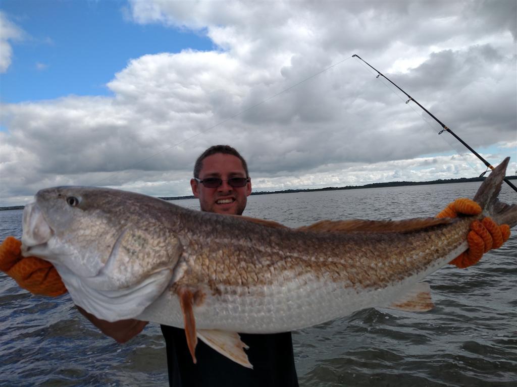 45 inch Redfish St. Simons Fishing Charters