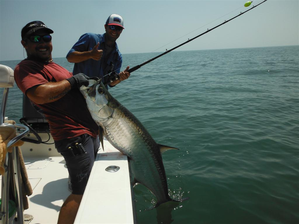 St simons island georgia fishing charters inshore for Tarpon fishing charters