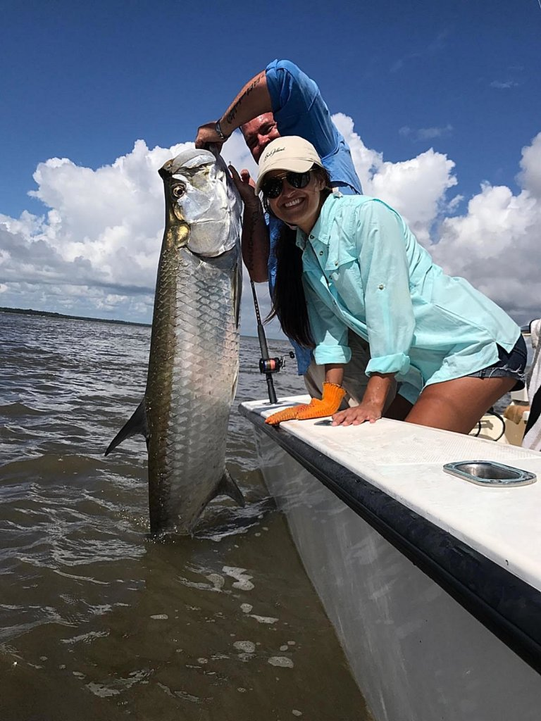 Tarpon fishing charters form st simons island and jekyll for Tarpon fishing charters