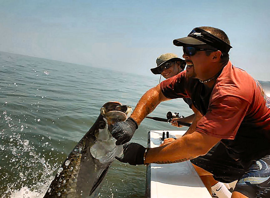 St. Simons Georgia Fishing Charters for Tarpon