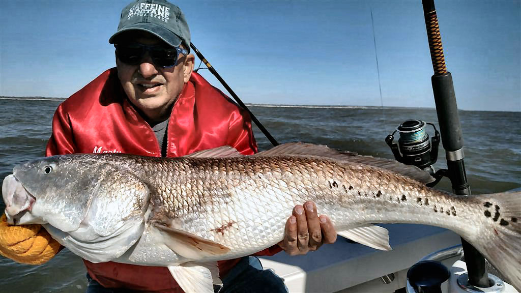 Georgia Fishing Charters | Redfish Fishing