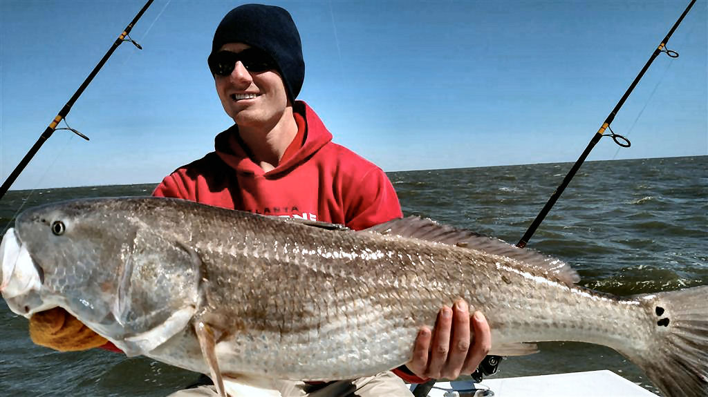 Giant Georgia Redfish | Georgia Sport Fishing Charters