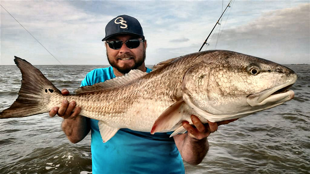 Fishing in Georgia for Redfish