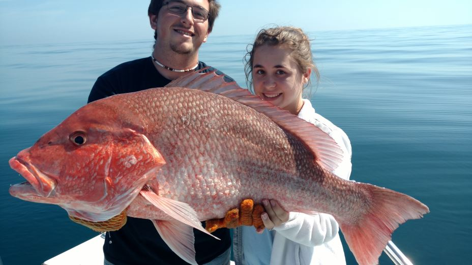 Snapper Fishing In St Simons Island