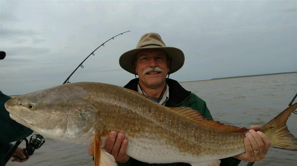 Jekyll Island Georgia Redfish Fishing