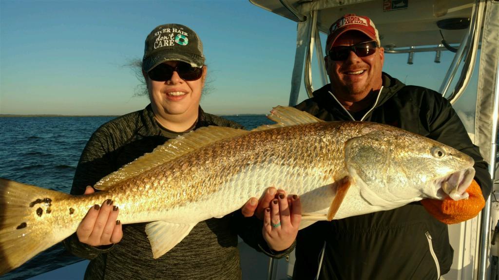 Fishing Report- Redfish at Jekyll Island Georgia
